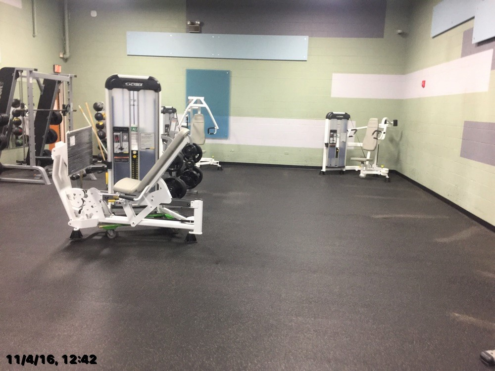 Delivery installation of cybex fitness equipment for the