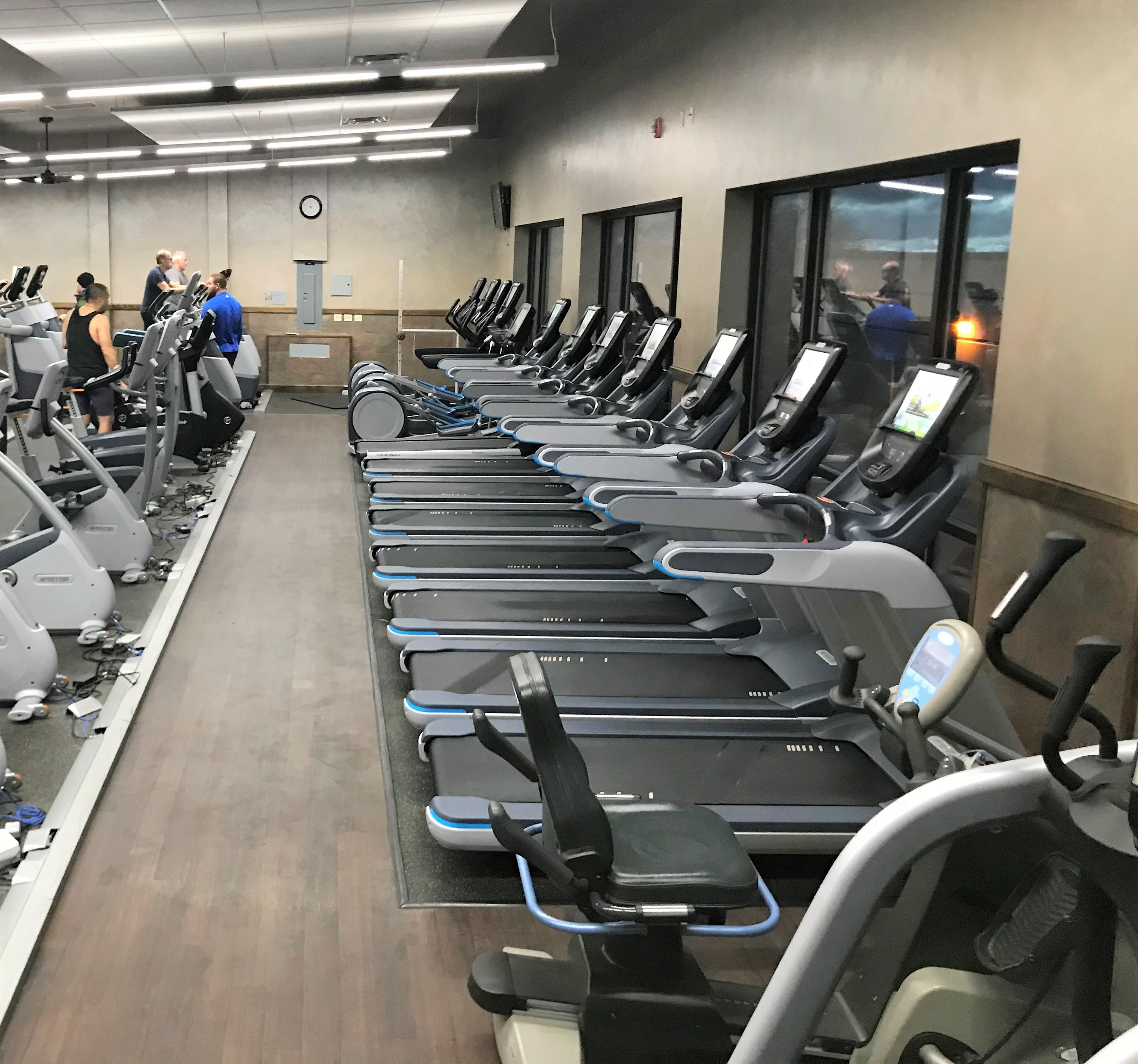 Delivery & Installation For Harbor Square Athletic Club In