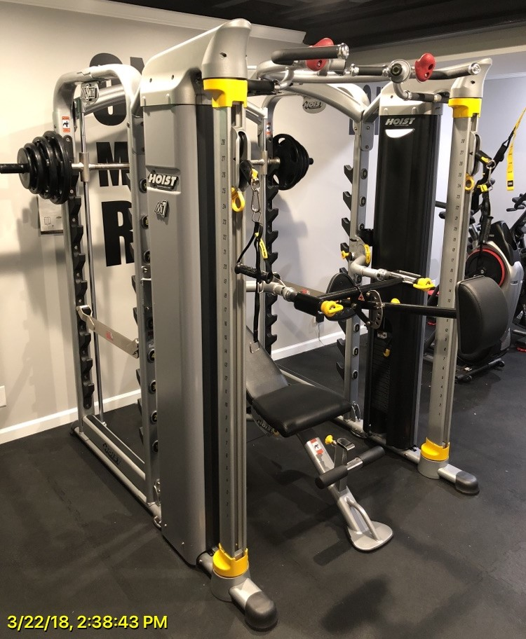 Hoist Multi Gym Mi7 Smith Ensemble: Delivery & Installation Of Fitness Equipment In Gurnee, IL
