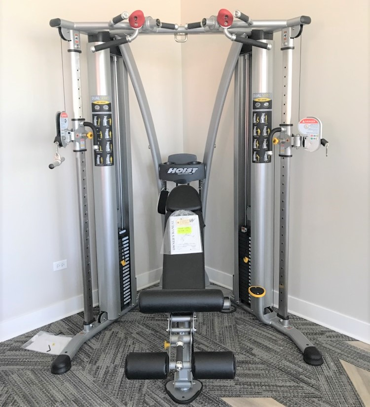 Hoist 1200 Gym Manual: Delivery & Installation Of Fitness Equipment To The Grand