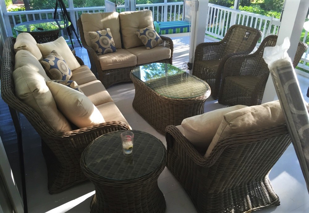 Delivery Installation Of Patio Renaissance Furniture In Culver