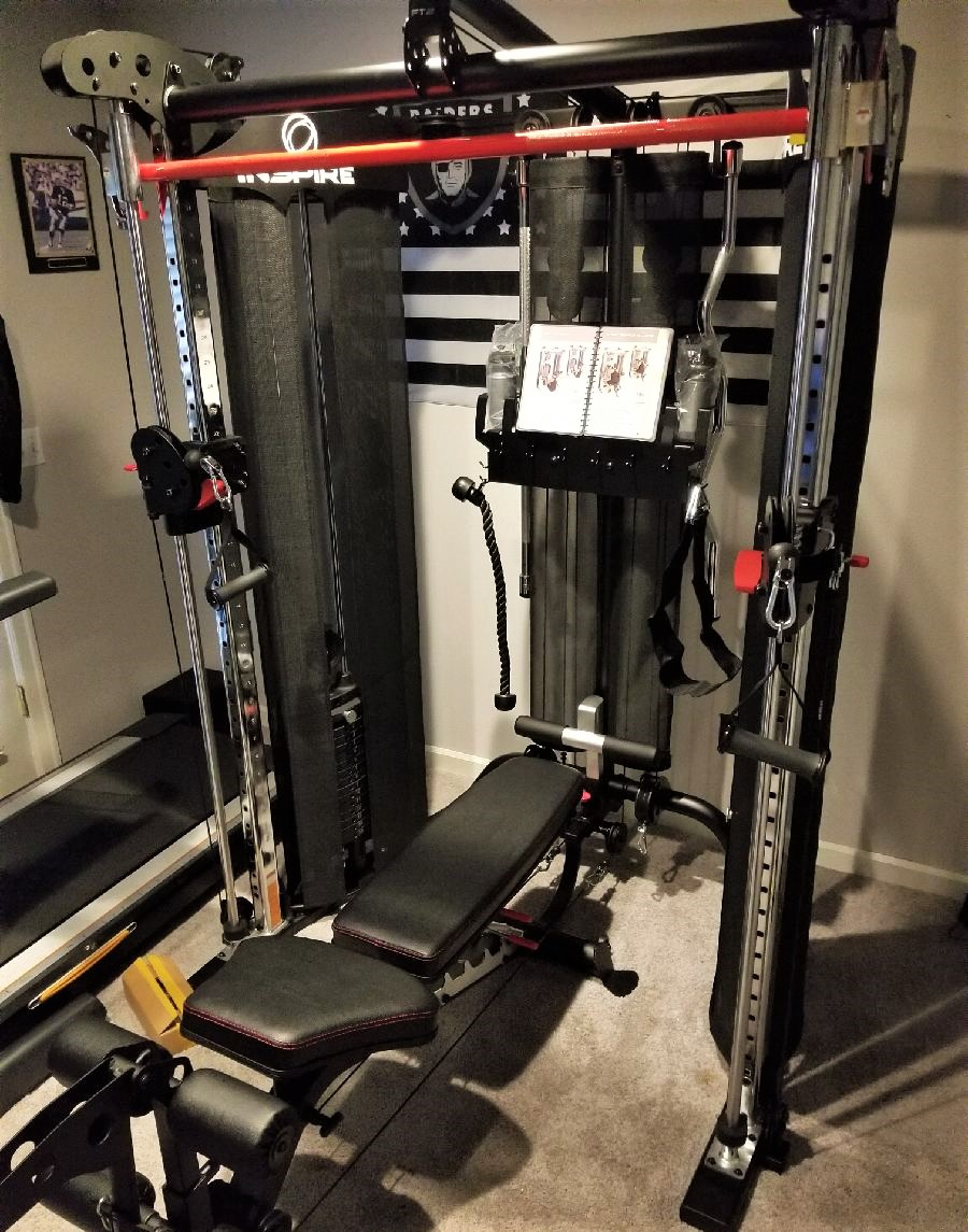 Home gym installation east hampton ny free weights flickr