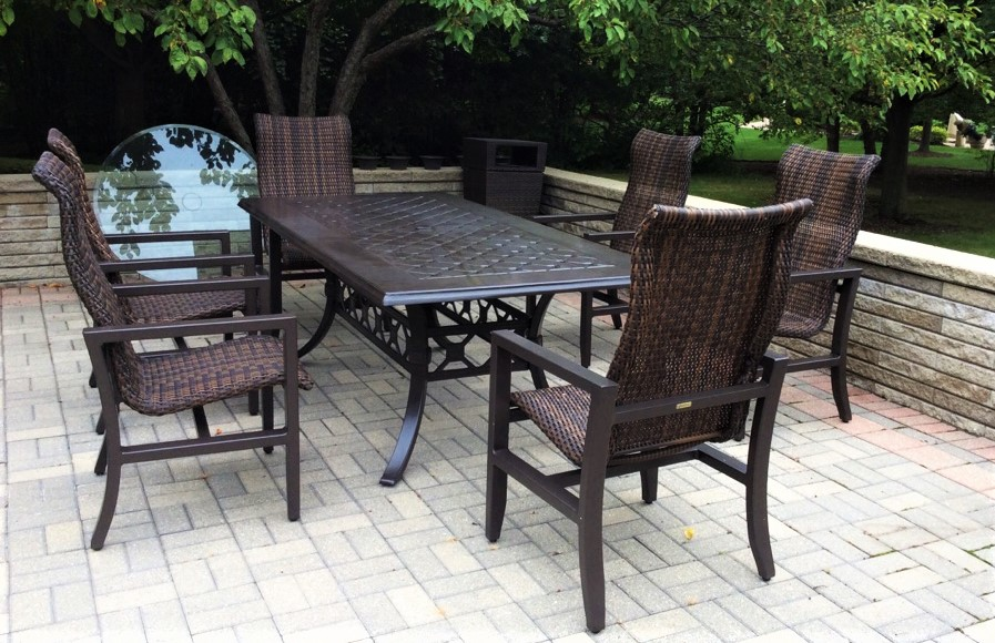 Delivery Installation Of Gensun Casual Living Patio Furniture In Long Grove Il