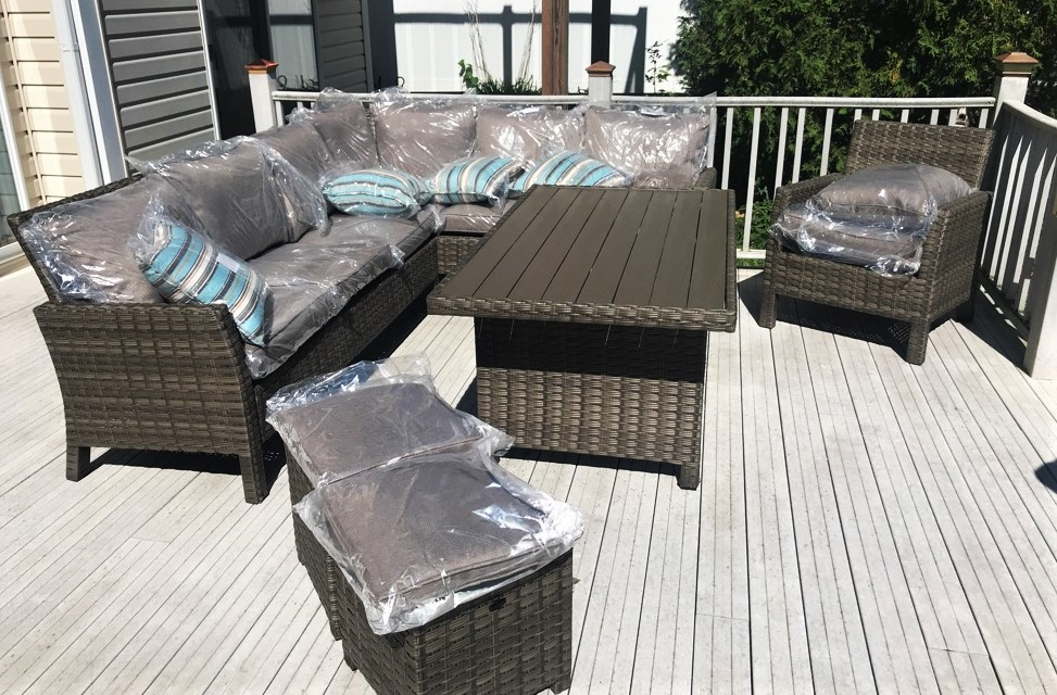 Delivery Installation Of Creative Living Patio Furniture Set In Ingleside Il