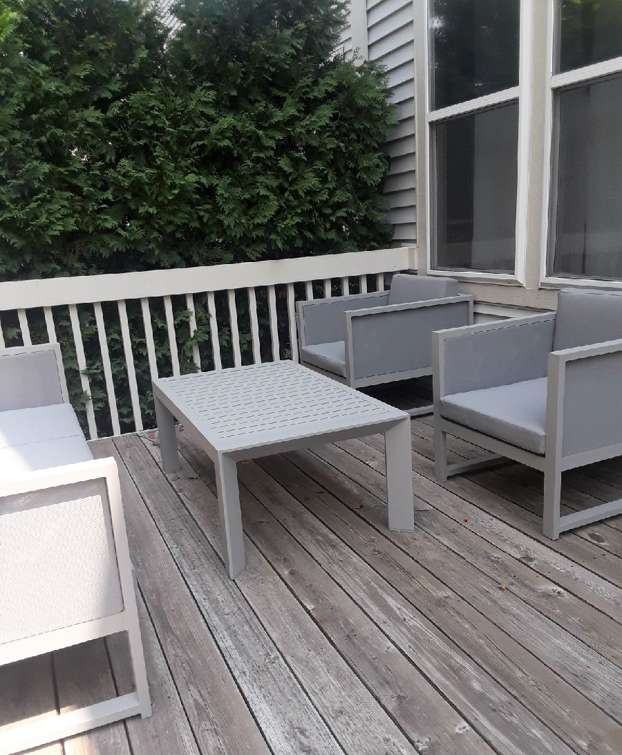 Delivery Installation Of Creative Living Patio Furniture Set In Algonquin Il