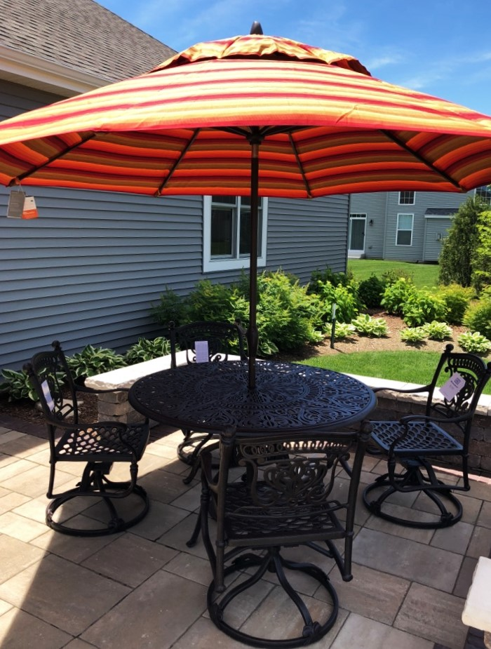 Delivery Amp Installation Of Hanamint Patio Furniture In