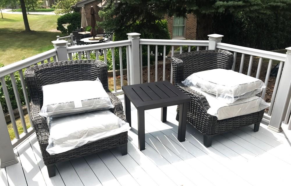 Delivery & Installation Of Patio Furniture To Orland Park