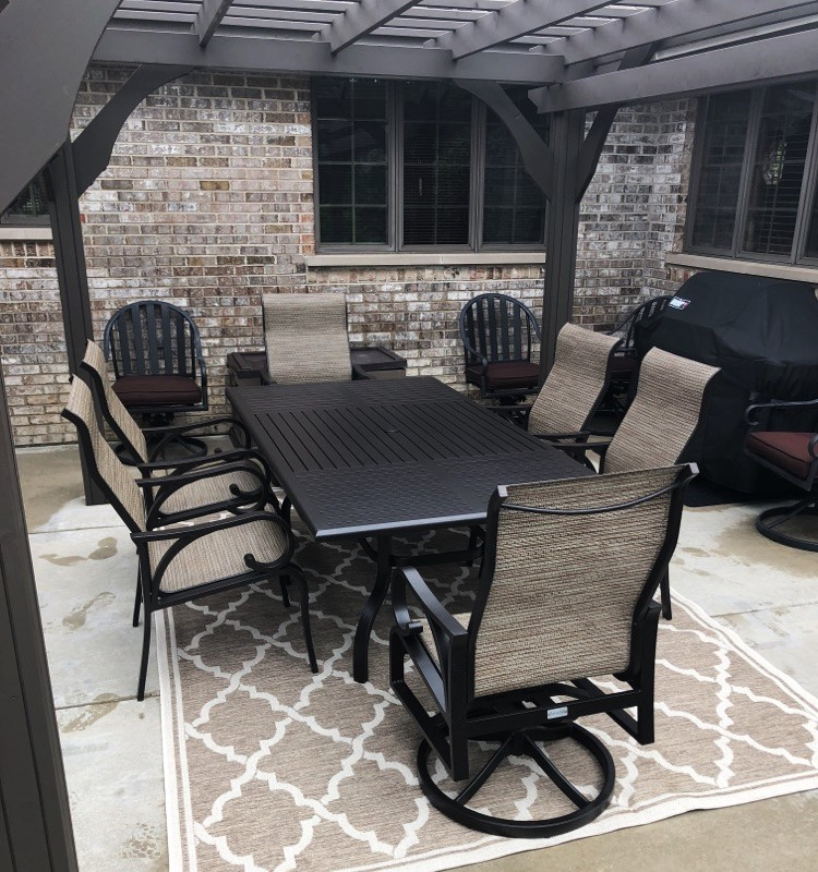 Delivery Installation Of Patio Furniture To Tinley Park IL
