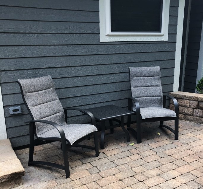 Industrial Renaissance Outdoor Coffee Table: Delivery & Installation Of Patio Renaissance Furniture Set