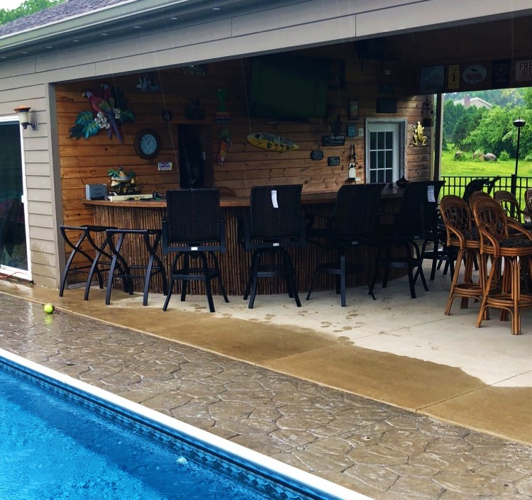 Delivery Amp Installation Of A Patio Furniture Set In